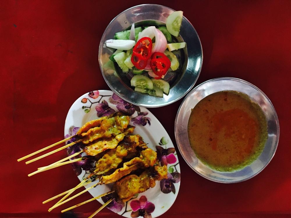 Saté Bangkok Yaowarat China Town Streetfood Food-Trotter