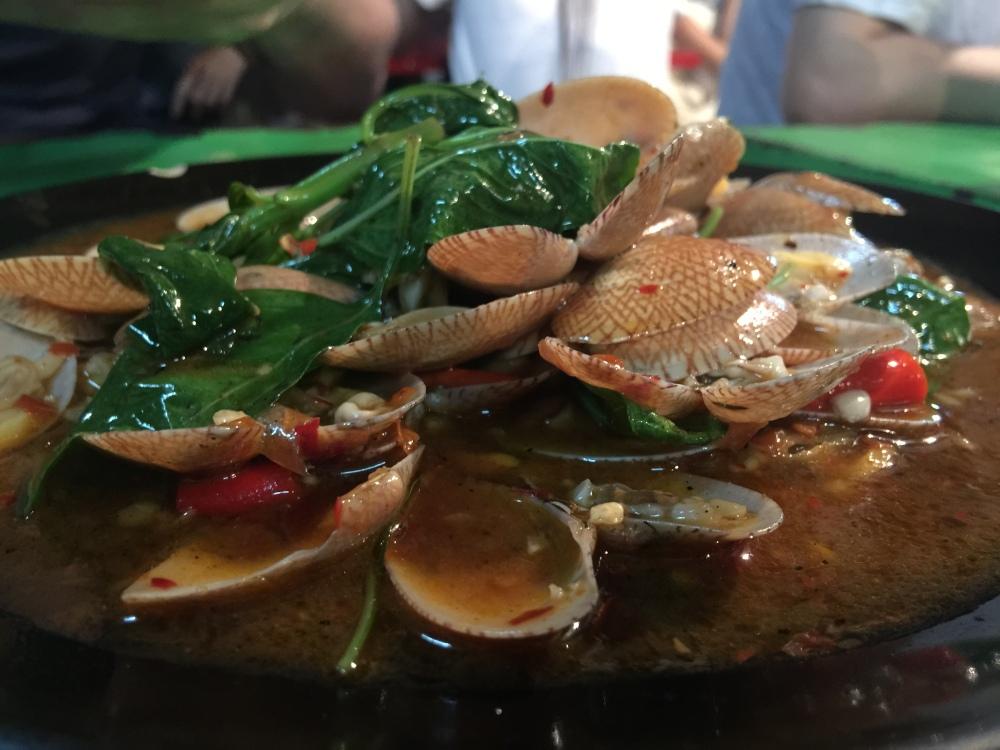 Clams Bangkok Yaowarat China Town Streetfood Food-Trotter